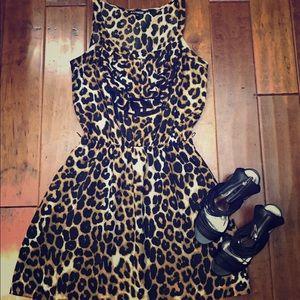 Cheetah print Express dress size medium